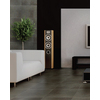 FLOORS 2000 8-Pack Keiv Negro Ceramic Floor Tile (Common: 17-in x 17-in; Actual: 17.27-in x 17.27-in)