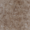 Porcelanite 17-in x 17-in Marble Brown Ceramic Floor Tile
