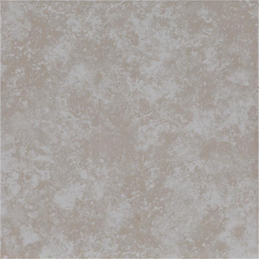 Shop project source beige ceramic indoor only floor tile for 13x13 ceramic floor tiles