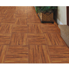 Porcelanite Gunstock Ceramic Floor Tile (Common: 17-in x 17-in; Actual: 17.26-in x 17.26-in)