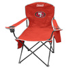 Coleman NFL San Francisco 49ers Steel Folding Chair