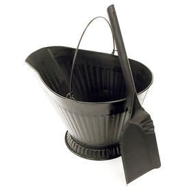 Landmann USA Black Coal Hod with Shovel