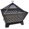 Landmann USA 26.2-in W Antique Bronze Steel Wood-Burning Firepit