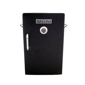 Master Forge 27.9-in 1500-Watt Matte Black Electric Vertical Smoker