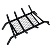 Landmann USA 1/2-in Steel 18-in 4-Bar Fireplace Grate with Ember Retainer