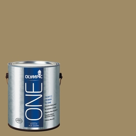 Olympic ONE Willow Tree Flat Latex Interior Paint and Primer In One (Actual Net Contents: 114-fl oz)