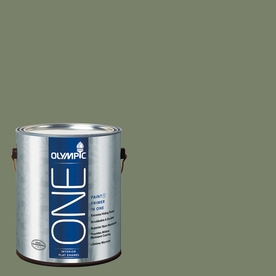 Olympic ONE Hidden Meadow Flat Latex Interior Paint and Primer In One (Actual Net Contents: 114-fl oz)