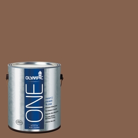 Olympic ONE Oregon Trail Flat Latex Interior Paint and Primer In One (Actual Net Contents: 114-fl oz)