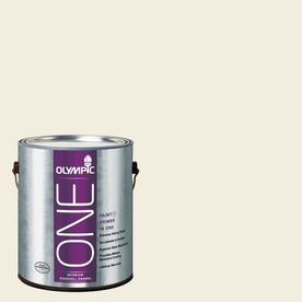 Olympic ONE Mother Of Pearl Eggshell Latex Interior Paint and Primer In One (Actual Net Contents: 124-fl oz)