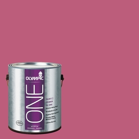 Olympic ONE Panama Rose Eggshell Latex Interior Paint and Primer In One (Actual Net Contents: 114-fl oz)