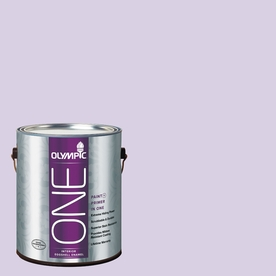 Olympic Gallon Interior Eggshell Purple Paint and Primer in One