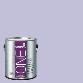 Olympic ONE Purplicious Eggshell Latex Interior Paint and Primer In One (Actual Net Contents: 124-fl oz)