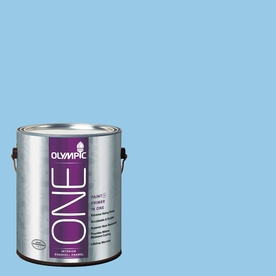 Olympic ONE Sweet Dreams Eggshell Latex Interior Paint and Primer In One (Actual Net Contents: 124-fl oz)