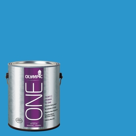 Olympic ONE Magical Merlin Eggshell Latex Interior Paint and Primer In One (Actual Net Contents: 114-fl oz)