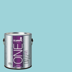 Olympic ONE South Pacific Eggshell Latex Interior Paint and Primer In One (Actual Net Contents: 124-fl oz)