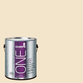 Olympic ONE Spice Delight Eggshell Latex Interior Paint and Primer In One (Actual Net Contents: 124-fl oz)