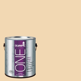 Olympic ONE Belgian Waffle Eggshell Latex Interior Paint and Primer In One (Actual Net Contents: 124-fl oz)