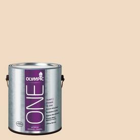 Olympic ONE Sand Trap Eggshell Latex Interior Paint and Primer In One (Actual Net Contents: 124-fl oz)