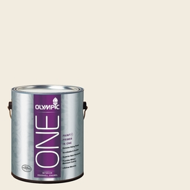 Olympic ONE Peach Linen Eggshell Latex Interior Paint and Primer In One (Actual Net Contents: 124-fl oz)