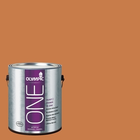 Olympic ONE Gingerbread Eggshell Latex Interior Paint and Primer In One (Actual Net Contents: 114-fl oz)