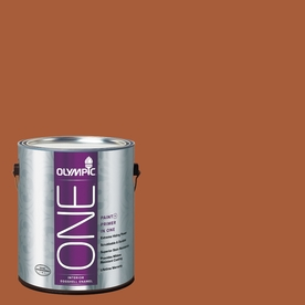 Olympic ONE Fragrant Cloves Eggshell Latex Interior Paint and Primer In One (Actual Net Contents: 114-fl oz)
