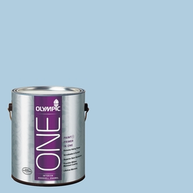 Olympic ONE Serenity Eggshell Latex Interior Paint and Primer In One (Actual Net Contents: 124-fl oz)