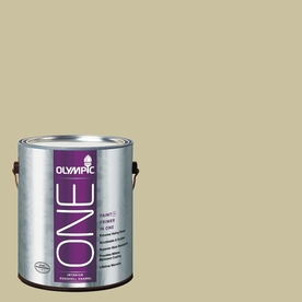 Olympic ONE Weeping Willow Eggshell Latex Interior Paint and Primer In One (Actual Net Contents: 116-fl oz)