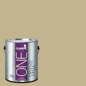 Olympic ONE Crocodile Tears Eggshell Latex Interior Paint and Primer In One (Actual Net Contents: 116-fl oz)