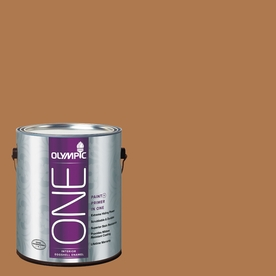 Olympic ONE Cowboy Hat Eggshell Latex Interior Paint and Primer In One (Actual Net Contents: 114-fl oz)