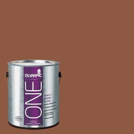 Olympic ONE Spiced Cider Eggshell Latex Interior Paint and Primer In One (Actual Net Contents: 114-fl oz)
