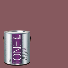 Olympic ONE Old Burgundy Eggshell Latex Interior Paint and Primer In One (Actual Net Contents: 114-fl oz)