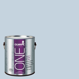 Olympic ONE Stratosphere Eggshell Latex Interior Paint and Primer In One (Actual Net Contents: 124-fl oz)
