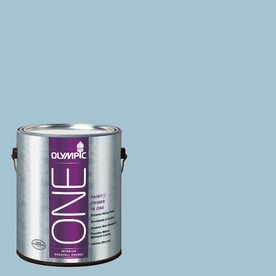 Olympic ONE Souvenir Eggshell Latex Interior Paint and Primer In One (Actual Net Contents: 124-fl oz)