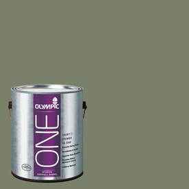 Olympic ONE Hidden Meadow Eggshell Latex Interior Paint and Primer In One (Actual Net Contents: 114-fl oz)