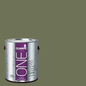 Olympic ONE Dark Sage Eggshell Latex Interior Paint and Primer In One (Actual Net Contents: 114-fl oz)
