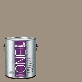Olympic ONE StONE Gray Eggshell Latex Interior Paint and Primer In One (Actual Net Contents: 116-fl oz)