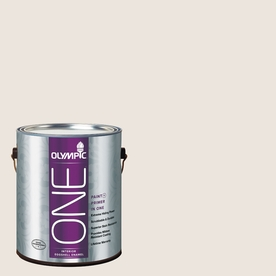 Olympic ONE Country Beige Eggshell Latex Interior Paint and Primer In One (Actual Net Contents: 124-fl oz)