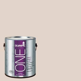 Olympic ONE Toast Eggshell Latex Interior Paint and Primer In One (Actual Net Contents: 124-fl oz)