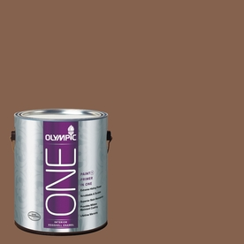 Olympic ONE Oregon Trail Eggshell Latex Interior Paint and Primer In One (Actual Net Contents: 114-fl oz)