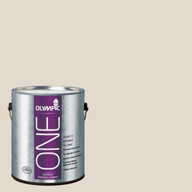 Olympic ONE Treasure Map Eggshell Latex Interior Paint and Primer In One (Actual Net Contents: 124-fl oz)