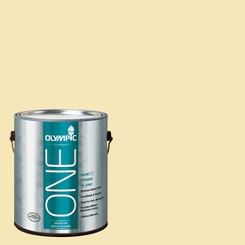 Olympic ONE Butter Satin Latex Interior Paint and Primer In One (Actual Net Contents: 124-fl oz)