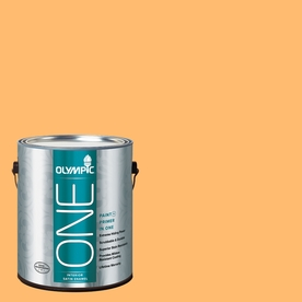 Olympic ONE Japanese Koi Satin Latex Interior Paint and Primer In One (Actual Net Contents: 114-fl oz)