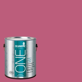 Olympic ONE Panama Rose Satin Latex Interior Paint and Primer In One (Actual Net Contents: 114-fl oz)