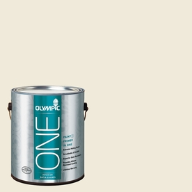 Olympic ONE 124 Fluid Ounce(S) Interior Satin Cake Batter Paint and Primer In One