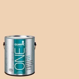 Olympic ONE 124 Fluid Ounce(S) Interior Satin Apple Crunch Paint and Primer In One