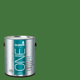 Olympic ONE 114 Fluid Ounce(S) Interior Satin Bell Pepper Paint and Primer In One