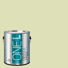 Olympic ONE Aloe Vera Satin Latex Interior Paint and Primer In One (Actual Net Contents: 124-fl oz)