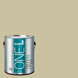Olympic ONE 116 Fluid Ounce(S) Interior Satin Weeping Willow Paint and Primer In One