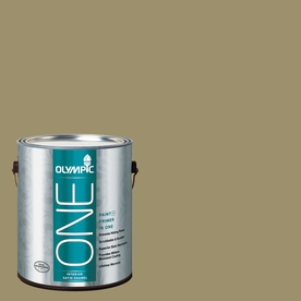 Olympic ONE Sweet Annie Satin Latex Interior Paint and Primer In One (Actual Net Contents: 114-fl oz)