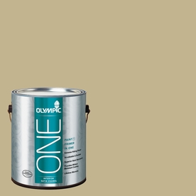 Olympic ONE Crocodile Tears Satin Latex Interior Paint and Primer In One (Actual Net Contents: 116-fl oz)